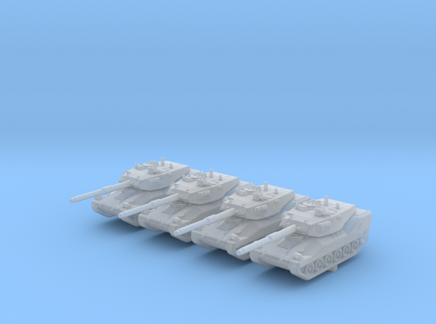 1/285 (6mm) British VFM Mk.5 Light Tank x4 in Smooth Fine Detail Plastic