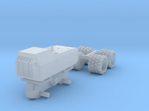 1:87 Trench compactor  in Smooth Fine Detail Plastic