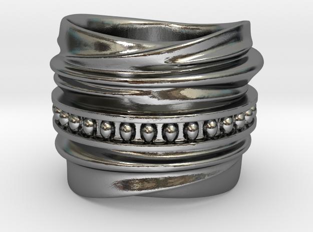 Baumann in Polished Silver