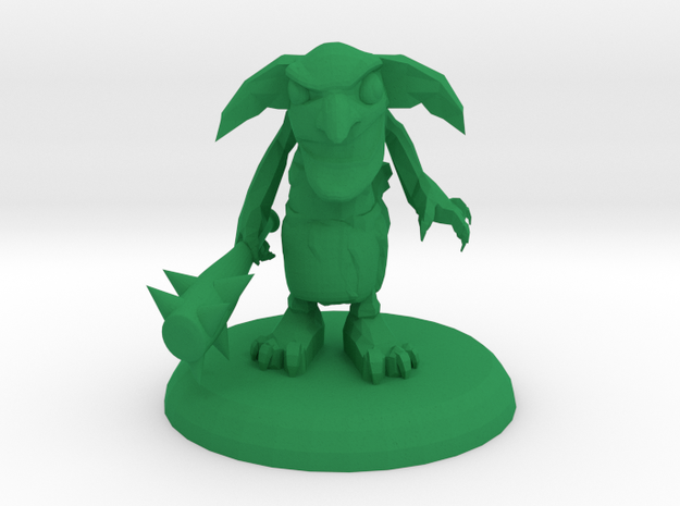 FRED THE GOBLIN in Green Processed Versatile Plastic