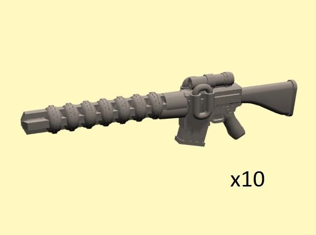 28mm Wastefall gauss rifle (classic)