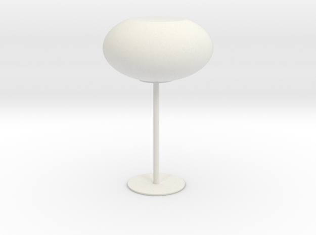 夜燈 in White Strong & Flexible