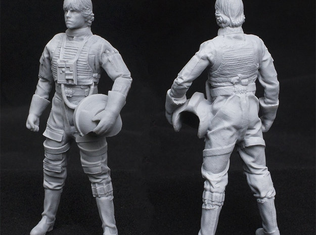 Standing Pilot 1/24 Scale for Studio Scale X-Wing