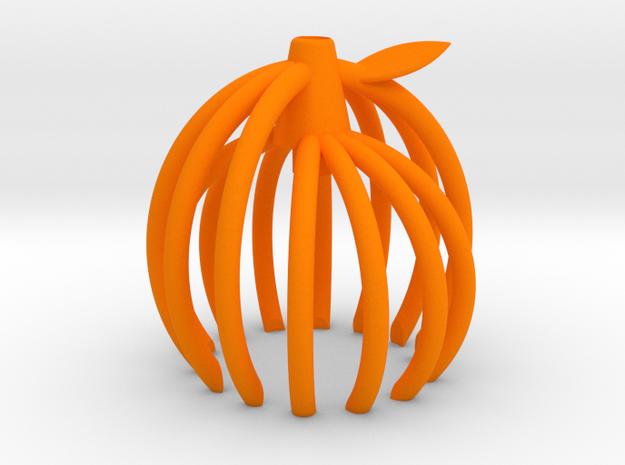 橘子吊燈 in Orange Strong & Flexible Polished: Small