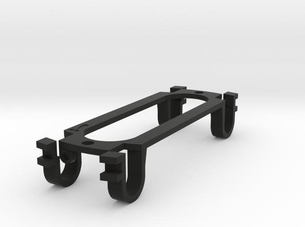 Strat-sized for parlor guitar - (eureka)Sound Hole in Black Natural Versatile Plastic