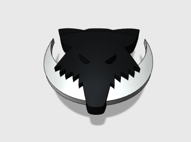 60x Moon Wolves : Shoulder Insignia pack