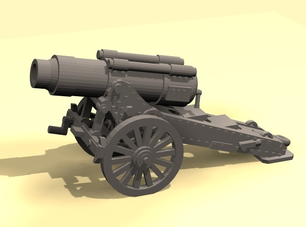 28mm Steampunk Heavy Mortar