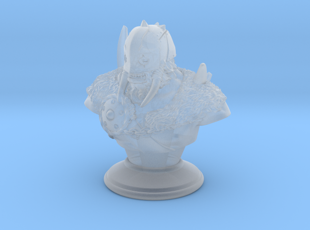 Warrior-Druid Bust in Frosted Ultra Detail: Medium