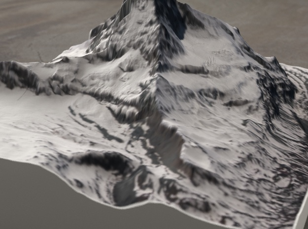 Matterhorn, Switzerland/Italy, 1:25000 in Full Color Sandstone