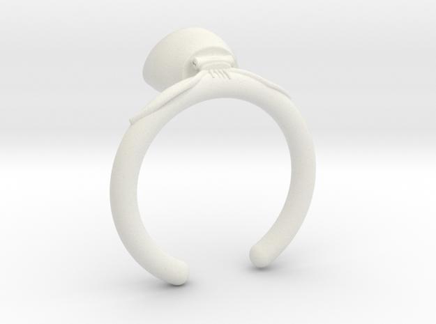 Octopus in White Natural Versatile Plastic: 4 / 46.5
