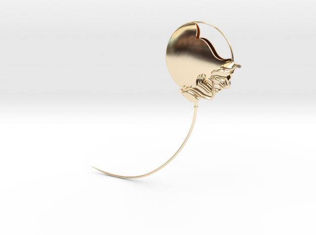 The Geminate Brooch - SMK in 14k Gold Plated