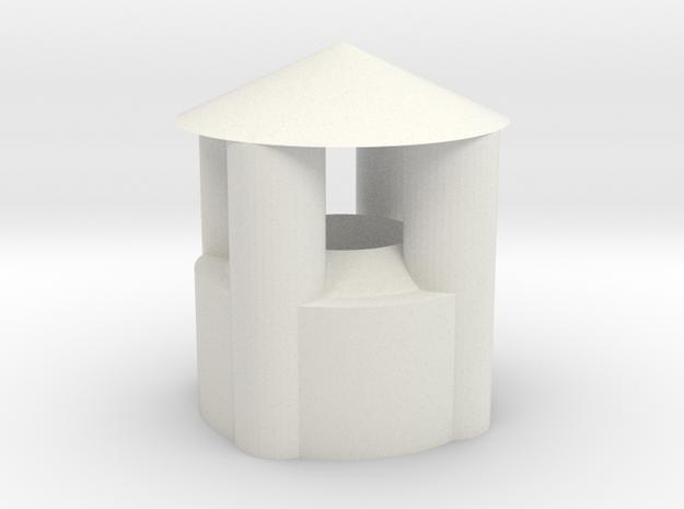 Lampholder - eaves in White Strong & Flexible: Medium