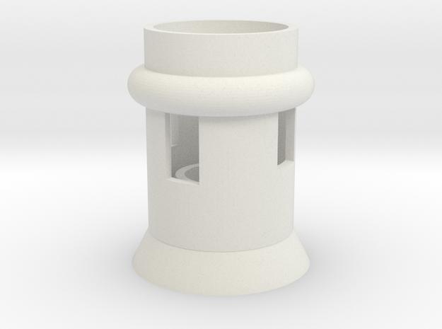 Lampholder - rocket in White Strong & Flexible: Medium