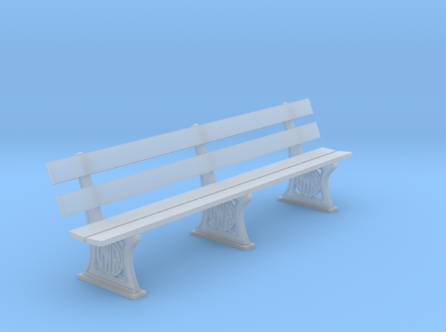 GWR Bench 4mm scale 10ft