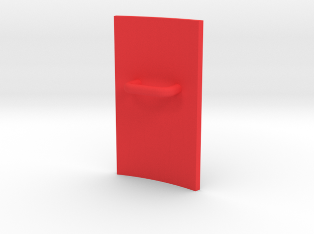 Shield in Red Strong & Flexible Polished