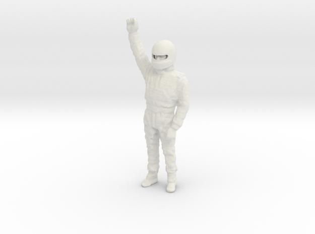 1/20 Ayrton Senna Standing in White Natural Versatile Plastic