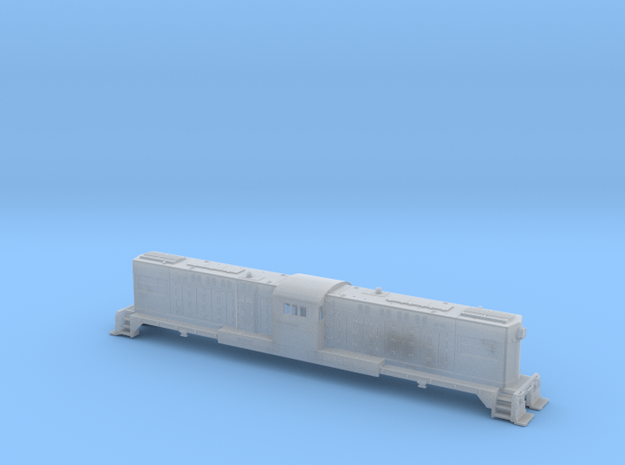 Baldwin RT-624 Center Cab- Shell Only N Scale 1:16 in Smooth Fine Detail Plastic
