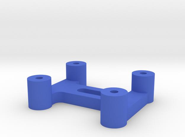 Xbee Explorer Mount in Blue Processed Versatile Plastic