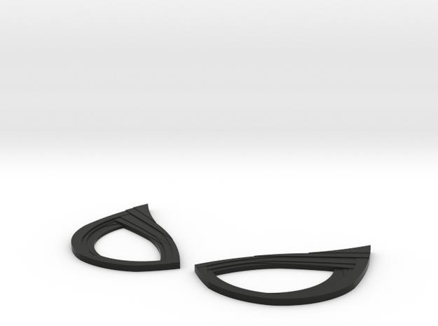 Spiderman Homecoming Lenses in Black Natural Versatile Plastic