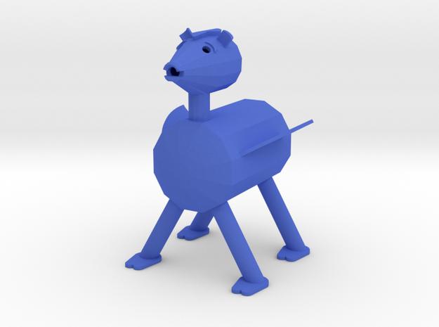 USHIKAWA BEARHARE small in Blue Processed Versatile Plastic