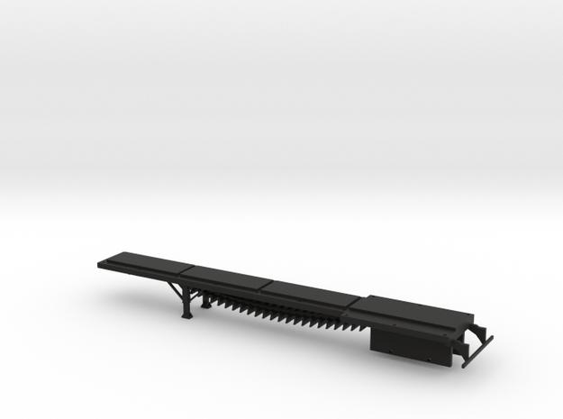 1/64 Belt Trailer Frame in Black Natural Versatile Plastic