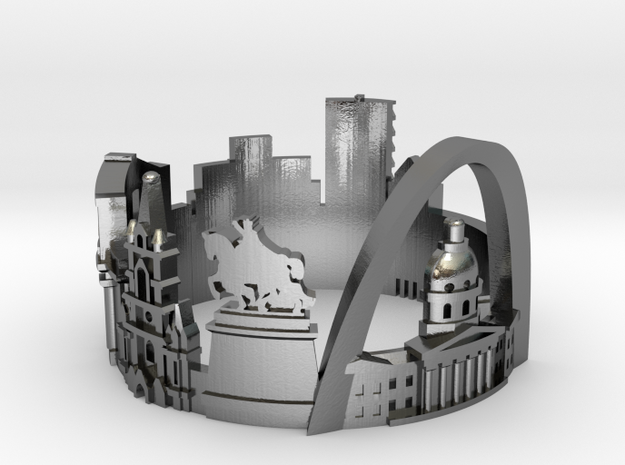 St.Louis US8 Skyline - Cityscape Ring