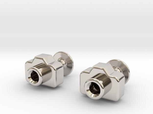 Mini DSLR Camera - Cufflinks
