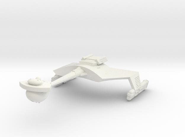 3788 Scale Klingon D7B Battlecruiser WEM in White Strong & Flexible