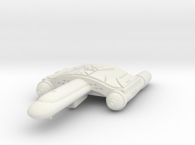 3125 Scale Romulan SkyHawk-L Destroyer Leader WEM in White Strong & Flexible