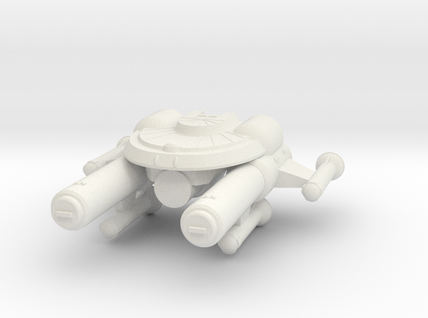 3125 Scale Seltorian Heavy Cruiser (CA) MGL in White Strong & Flexible