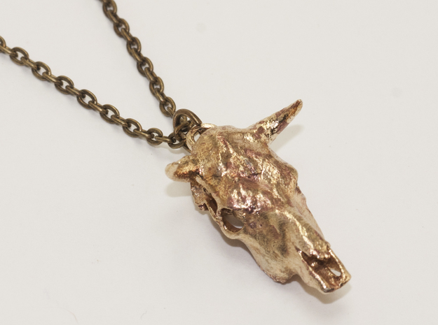 Bull With Horns Pendant