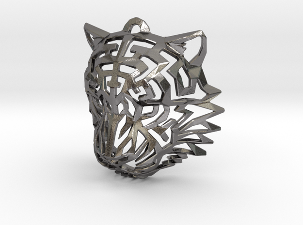 Tiger Head Pendant