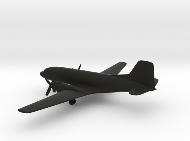 Ilyushin Il-14M Crate in Black Natural Versatile Plastic: 6mm