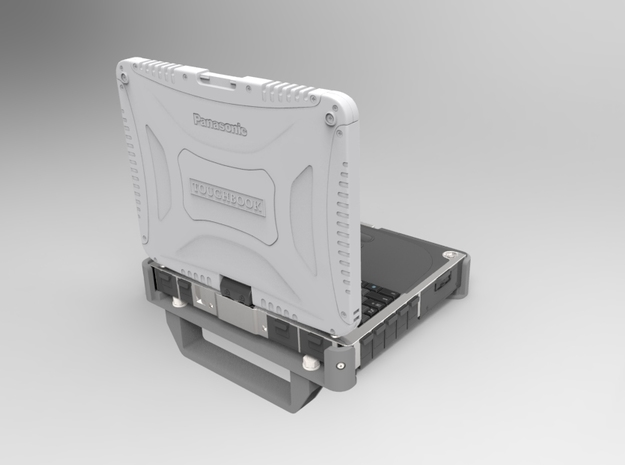 Anchorage parts for Toughbook CF-19 3d printed