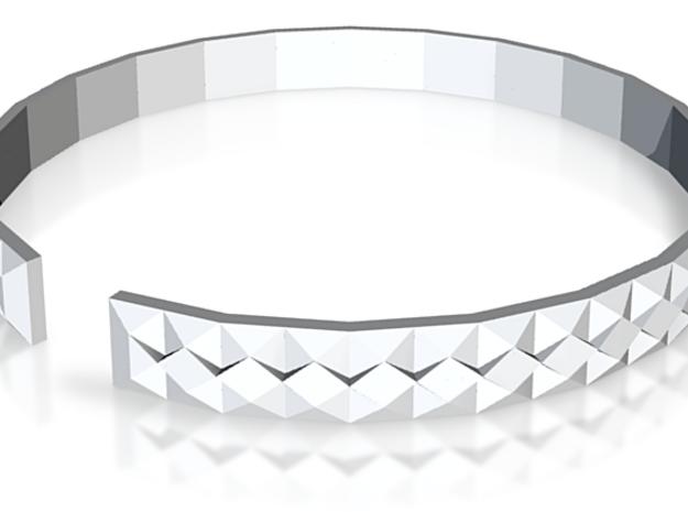 Gashi - Small plastic bracelet. 3d printed