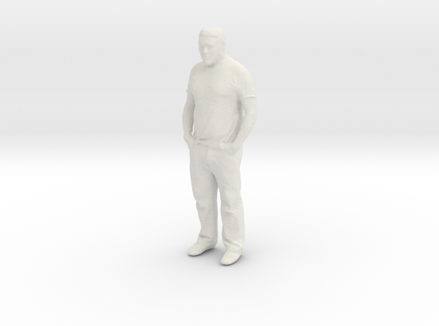 Printle C Homme 853 - 1/24 - wob in White Natural Versatile Plastic