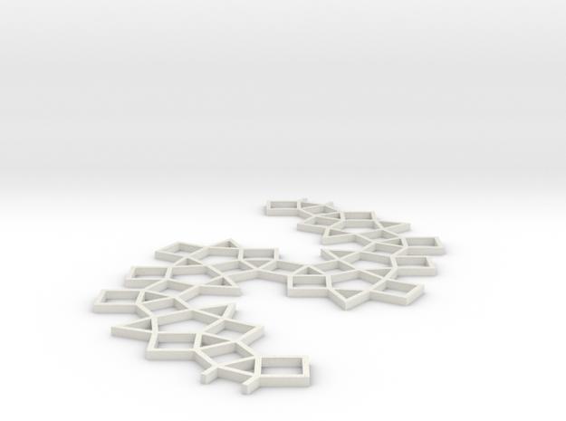 MB 02 in White Natural Versatile Plastic