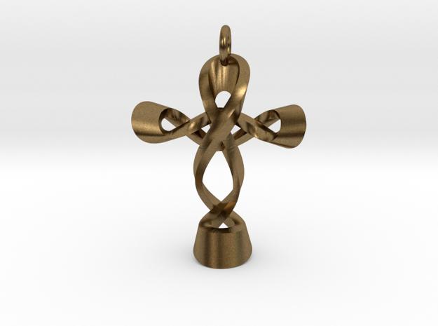 Cross CM Pendant in Natural Bronze