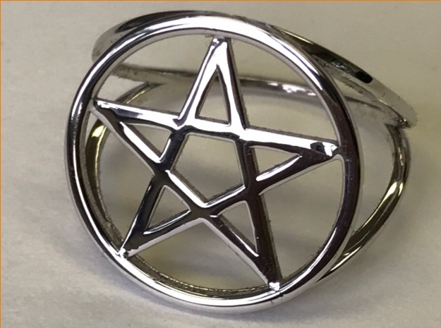 Pentacle ring (customize)