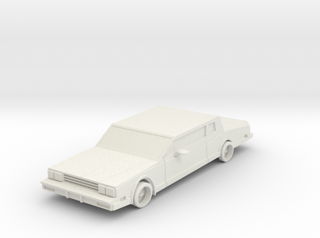 1982 Chevrolet Monte Carlo (Lowrider) in White Strong & Flexible