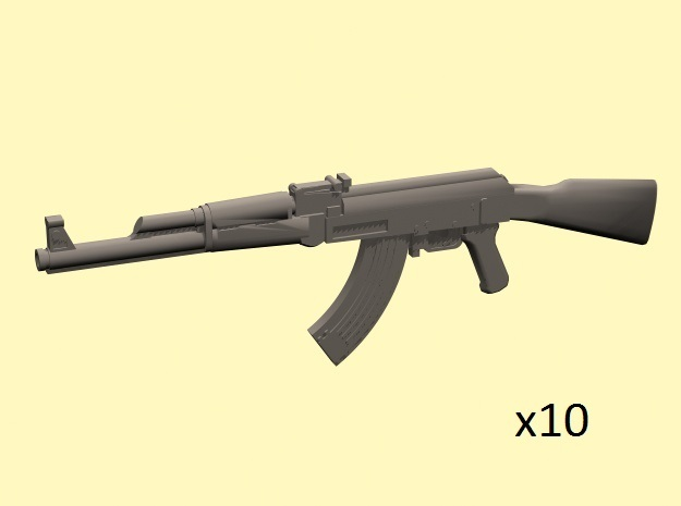 1/35 AK-47 assault rifles