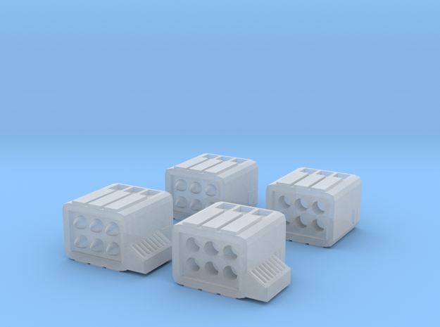 Micro Missile 6-pack (no hatches) in Smoothest Fine Detail Plastic