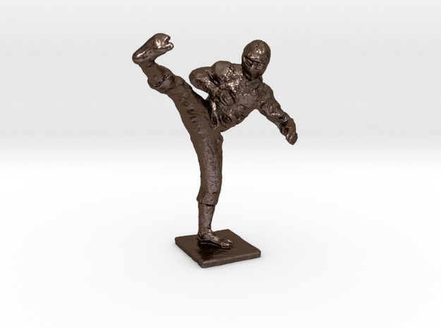 Ninja 1-50 in Polished Bronze Steel