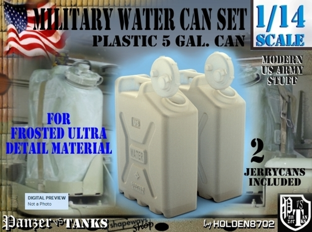 1-14 Military Water Can FUD SET1