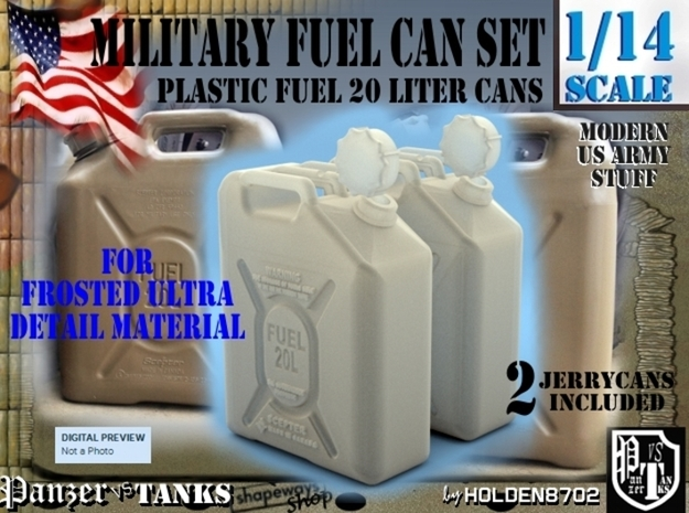 1-14 Military FUEL Can FUD SET1
