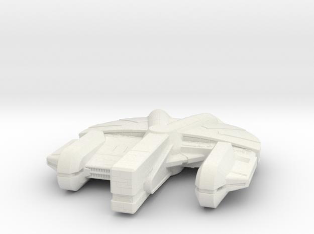 1/350 scale Ebon Hawk in White Natural Versatile Plastic