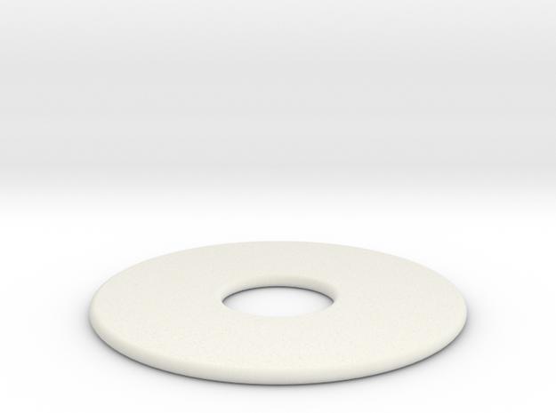 20 Wit in White Natural Versatile Plastic