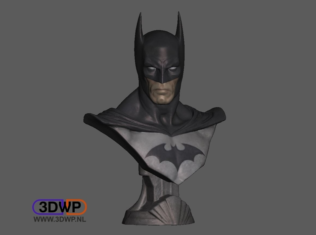 Batman Bust Full Color in Full Color Sandstone