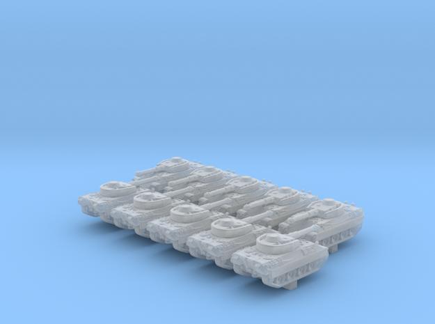 1/600 German Pz.Kpfw. V/IV Medium Tank x10 in Smoothest Fine Detail Plastic