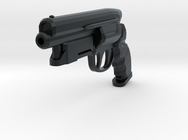 Deckard Pistol in Black Hi-Def Acrylate